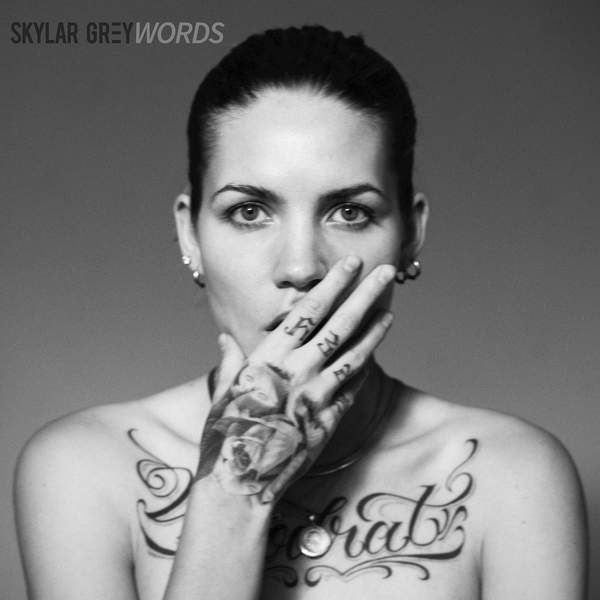 love is a four letter word album cover - skylar grey words single itunes plus aac m4a 2015