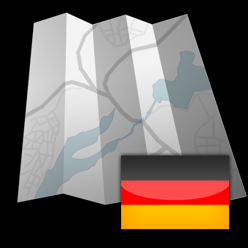 Germany - Offline map with directU - (free)