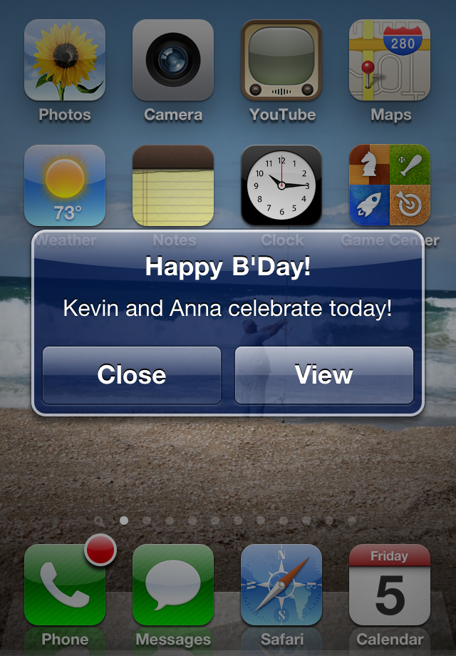 Happy B'Day! Screenshot