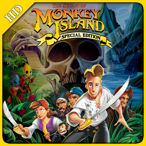 The Secret of Monkey Island: Special Edition, for iPad