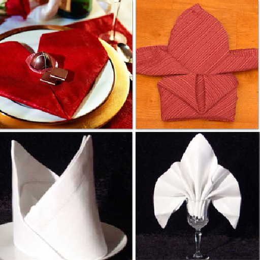How to Fold Napkins -- Napkin Folding Guide