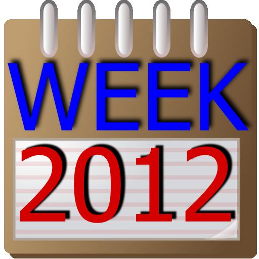 2011 Week Calendar