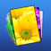 iWallpapers HD – Retina Background & Wallpaper With Glow Effects Icon