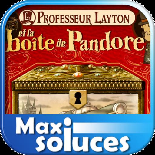 MAXISOLUCES - Professeur Layton et la Boîte de Pandore – La Soluce Complète