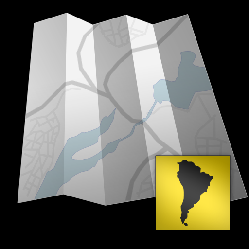 South America - Offline map with directU - (free)