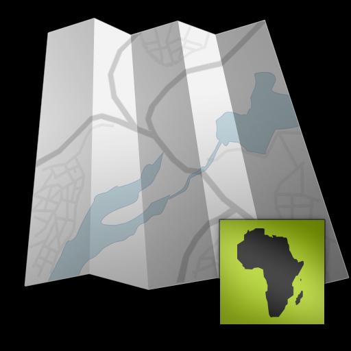 Africa - Offline map with directU - (free)