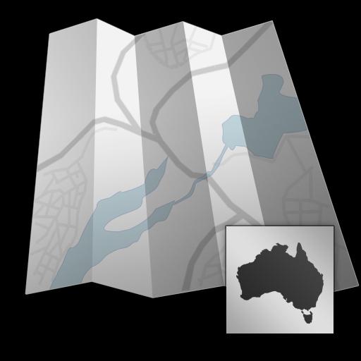 Australia - Offline map with directU - (free)