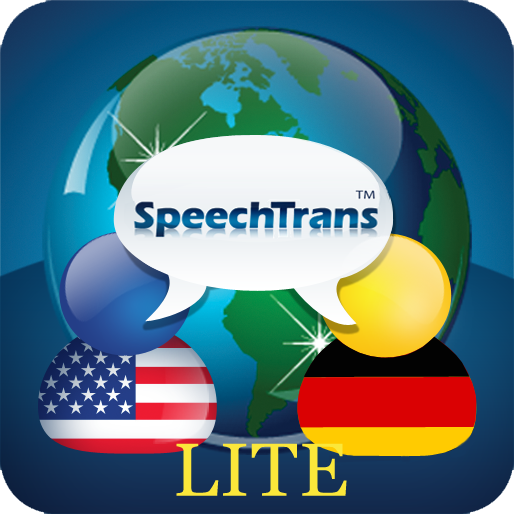 SpeechTrans Lite German English Translator with Voice Recognition Powered by Nuance maker of Dragon Naturally Speaking