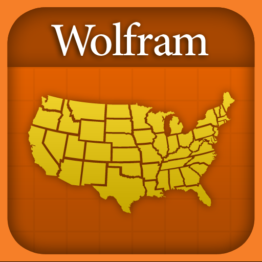 Wolfram US States Reference App icon