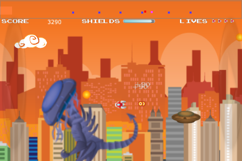 Attack of the Kraken LITE screenshot #2