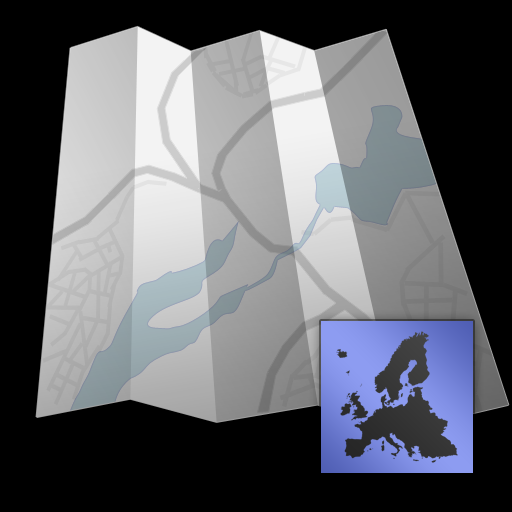 Europe - Offline map with directU - (free)