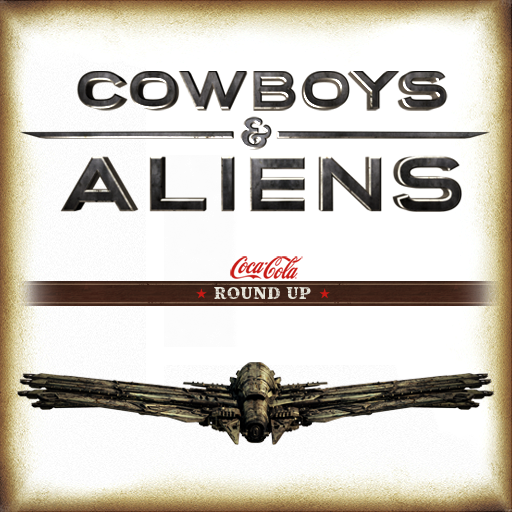 Cowboys & Aliens Coca-Cola Round Up