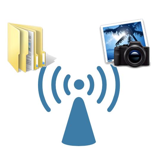 Transfer Photos and Files through WIFI