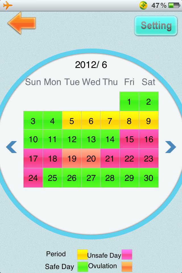 Period tracker period calendar on the app store.