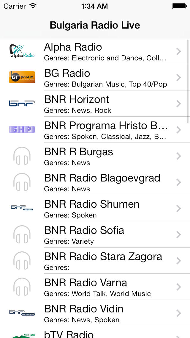 Bulgaria Radio Player - free online fm am live stream tuner