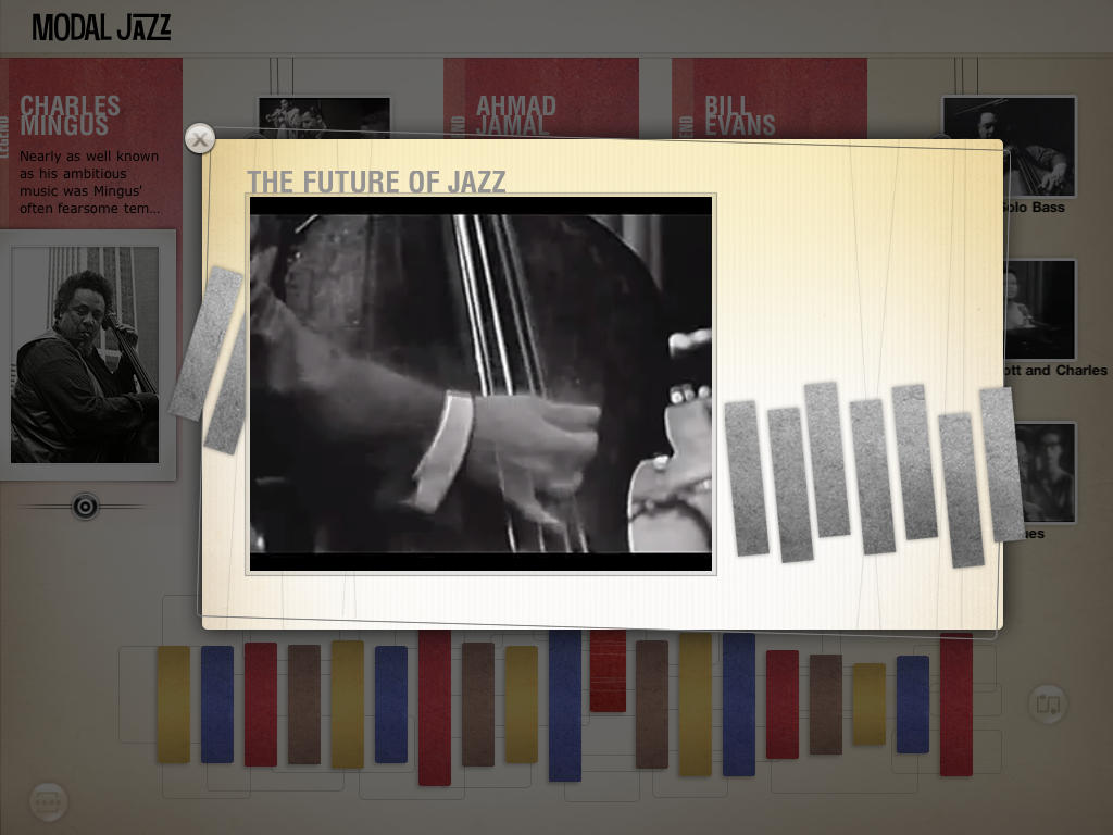 The History of Jazz - an interactive timeline screenshot-4