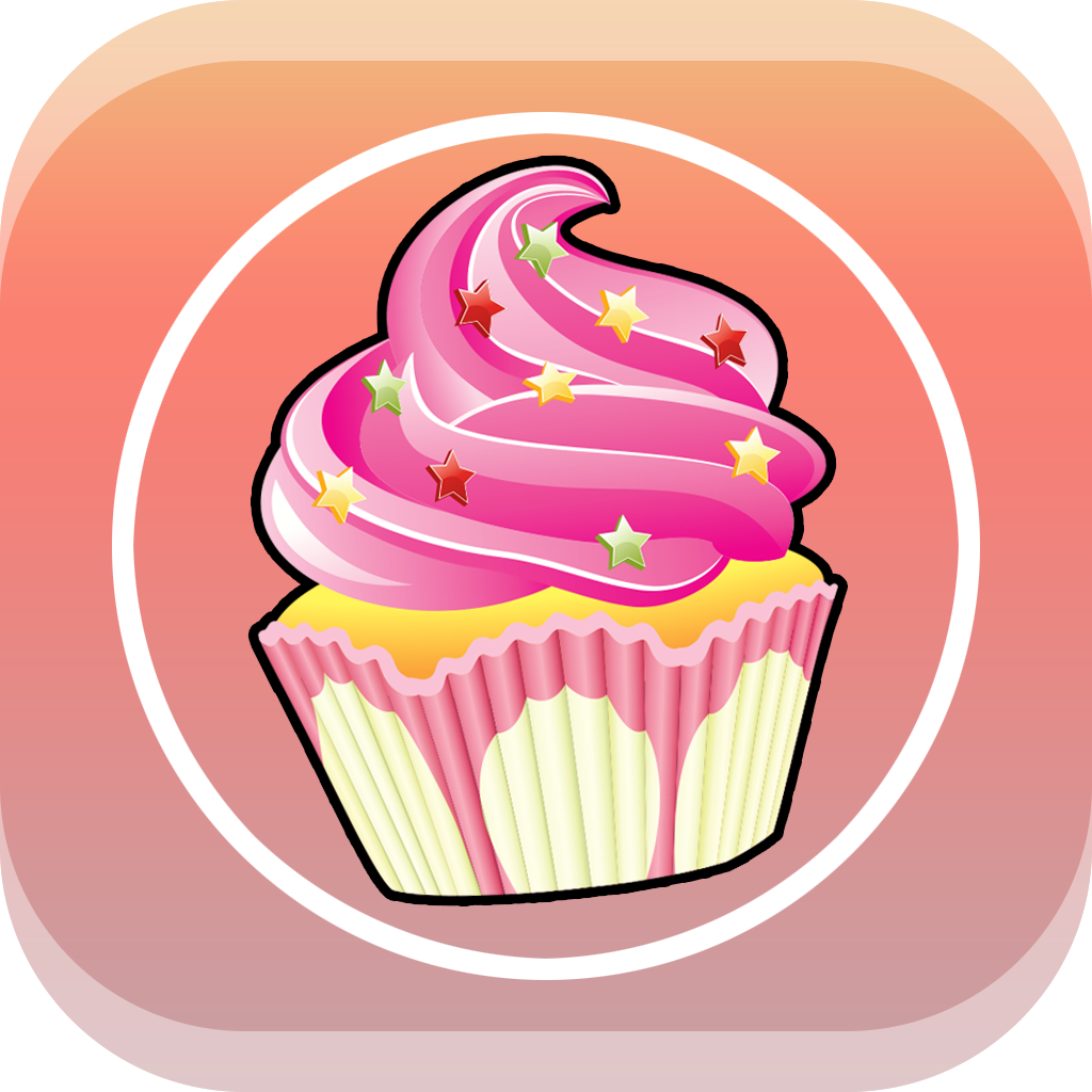 Awesome Magic Cupcake Clickers: Maker of Sweet Candies icon