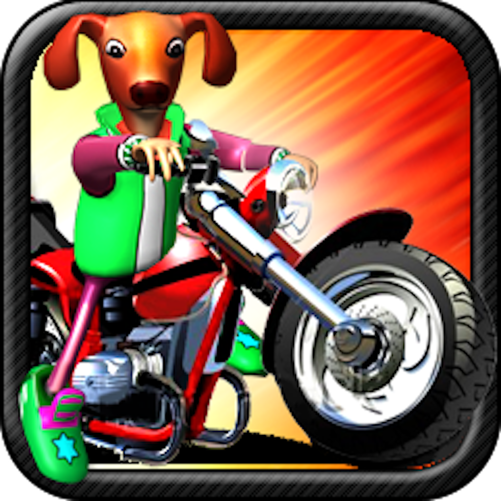 Pet Moto Racing ( 3D bike kids games )