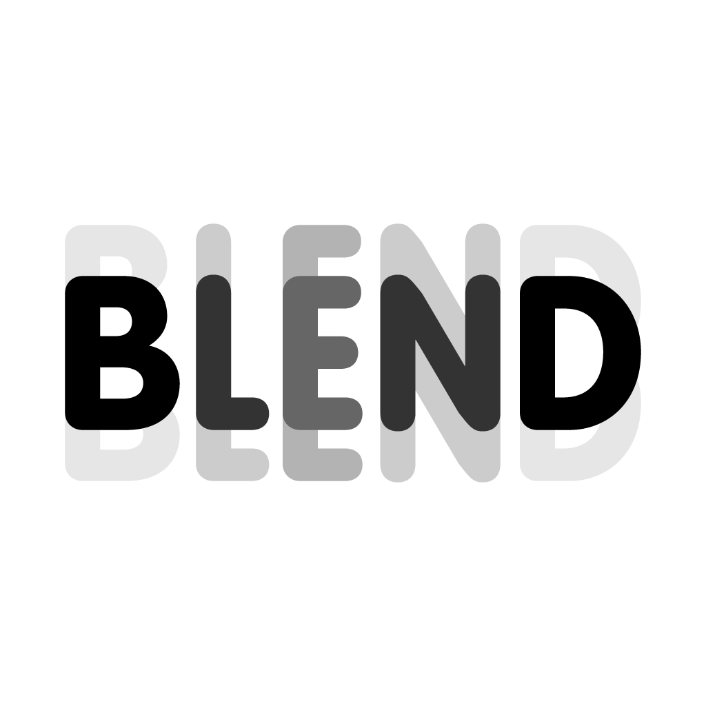 BLEND - Overlay your pics