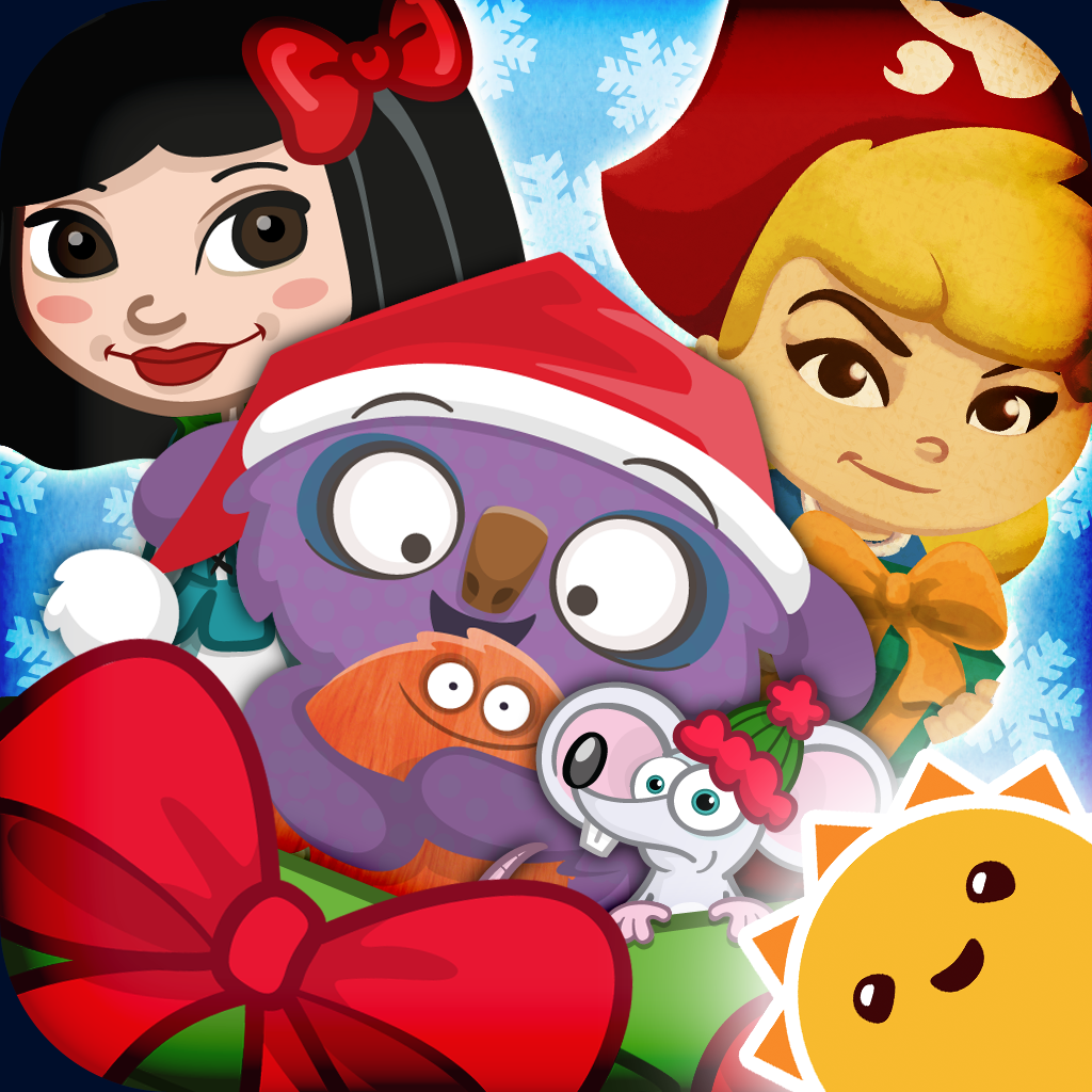 Holiday Countdown ~ 3D Interactive Sticker Book icon