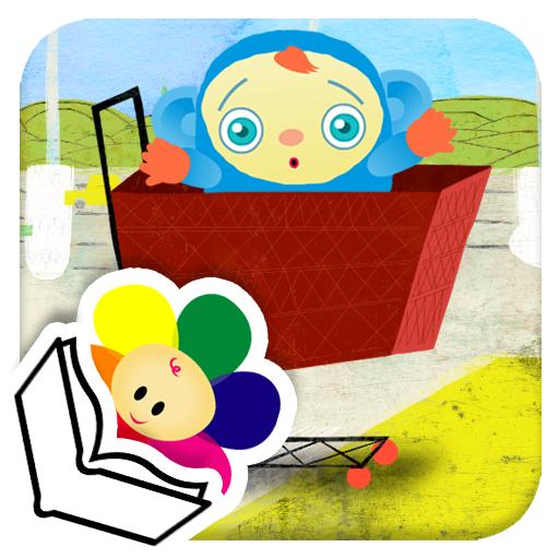 Peekaboo Goes Shopping Book - by BabyFirst