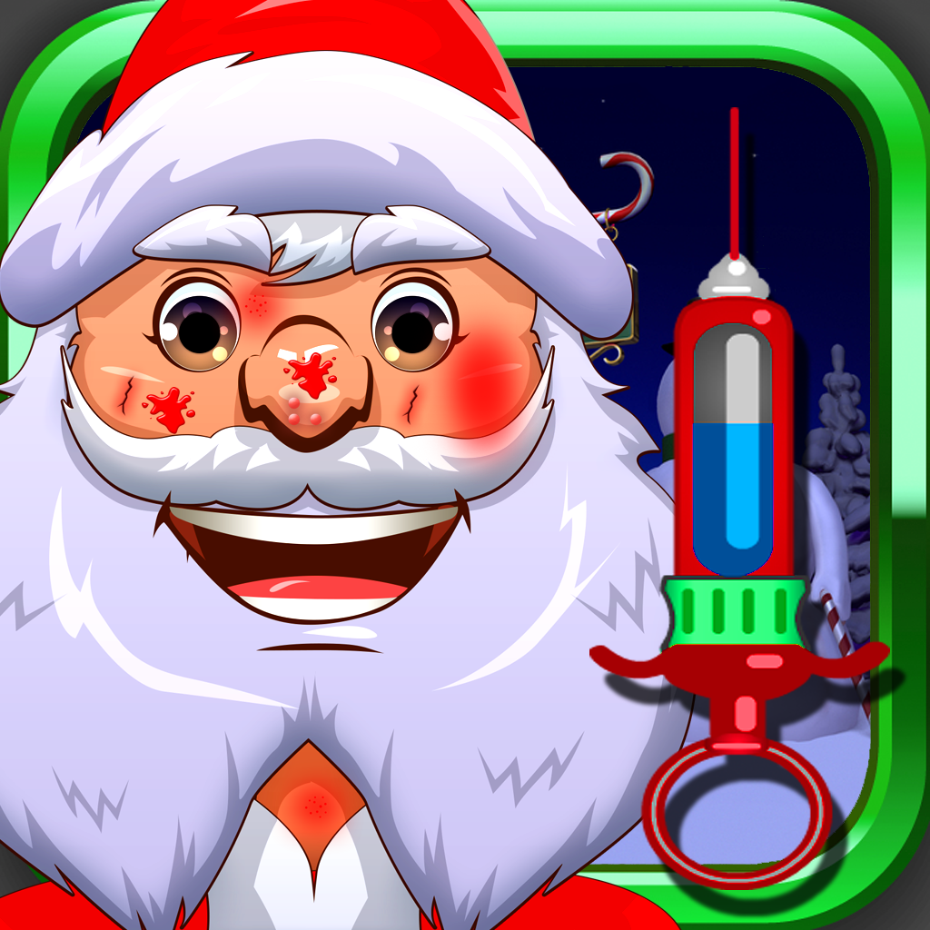 Awesome Santa Doctor Free - Makeover Games for Girls and Boys