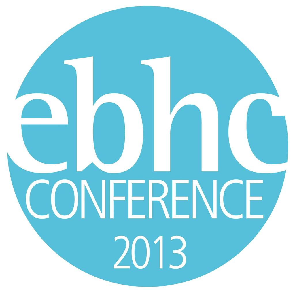 EBHC International Joint Conference 2013