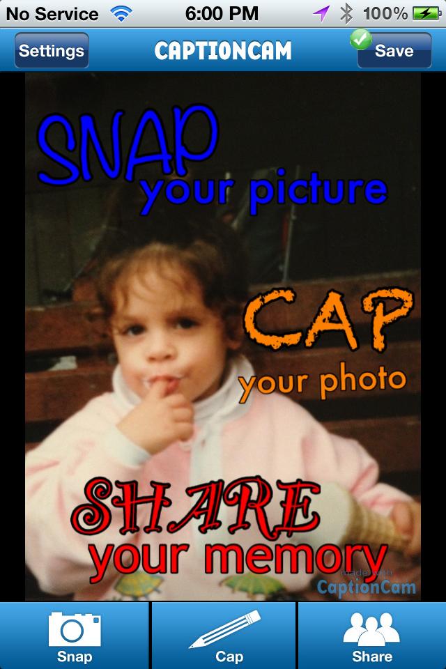 CaptionCam Screenshot