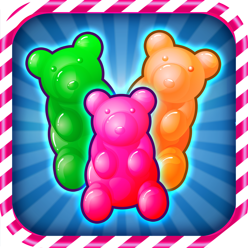 A Sweet Jelly Magic Saga - Super Hexa Diamond Crush Competition icon