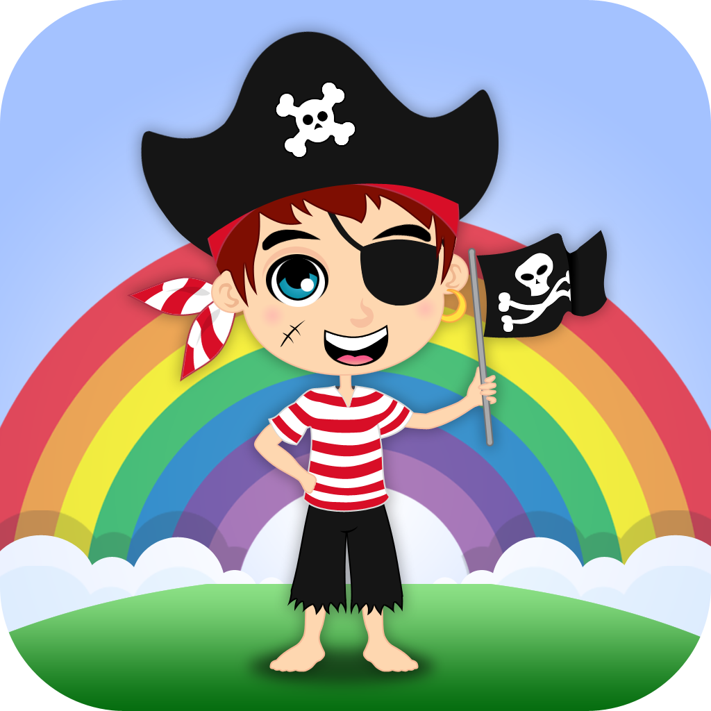 Pirates: Real & Cartoon Videos, Games, Photos, Books & Interactive Activities for Kids by Playrific