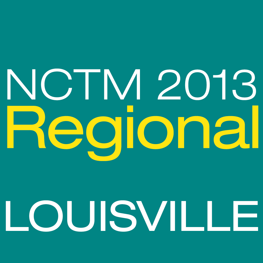 NCTM 2013 Louisville App