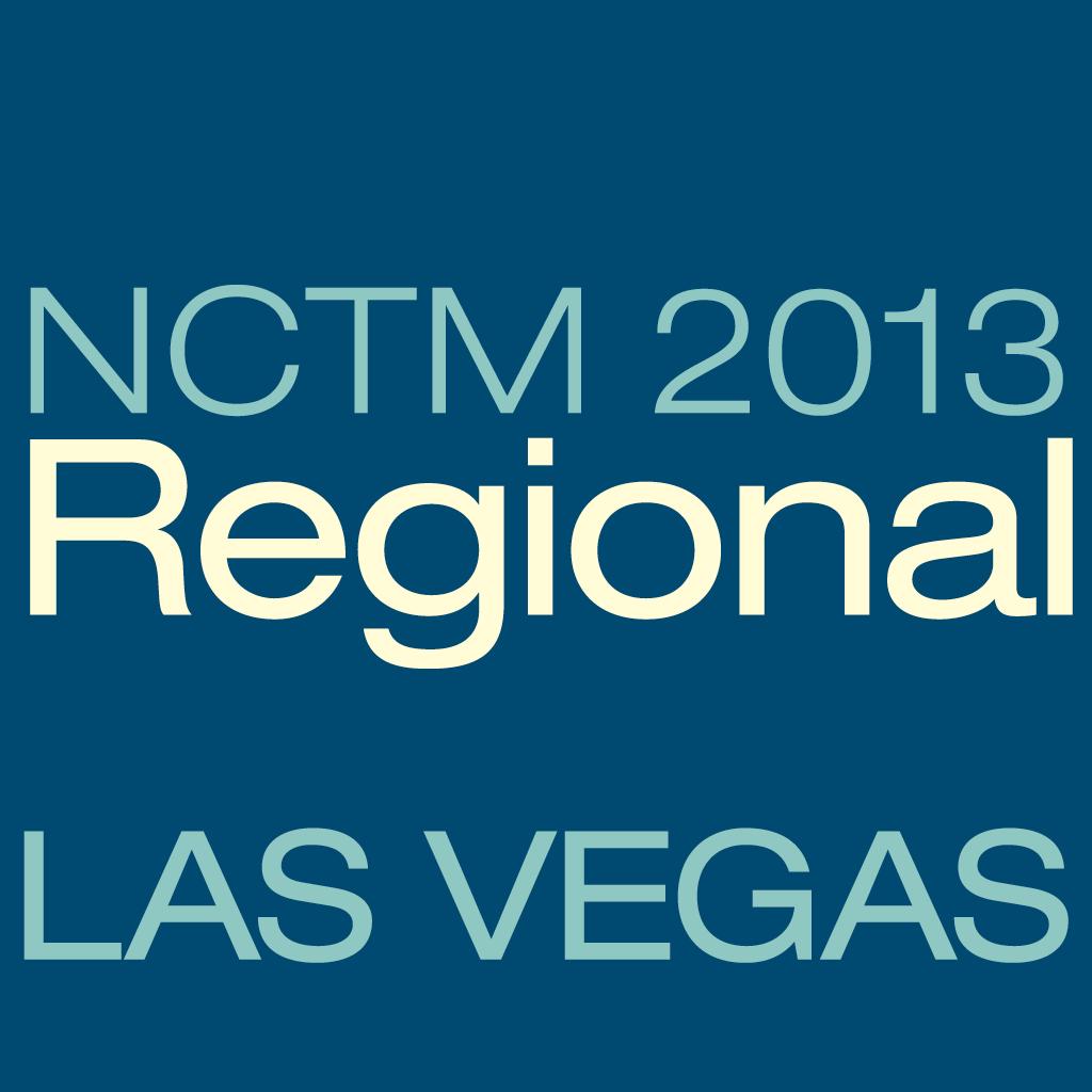 NCTM 2013 Las Vegas App icon