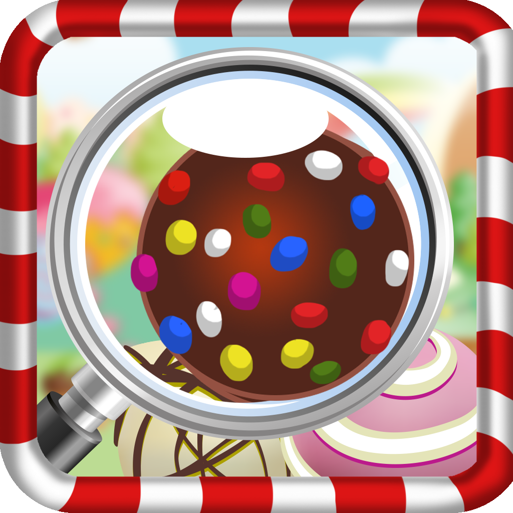 Where's The Candy: Hidden Objects Sweet Mystery Saga icon