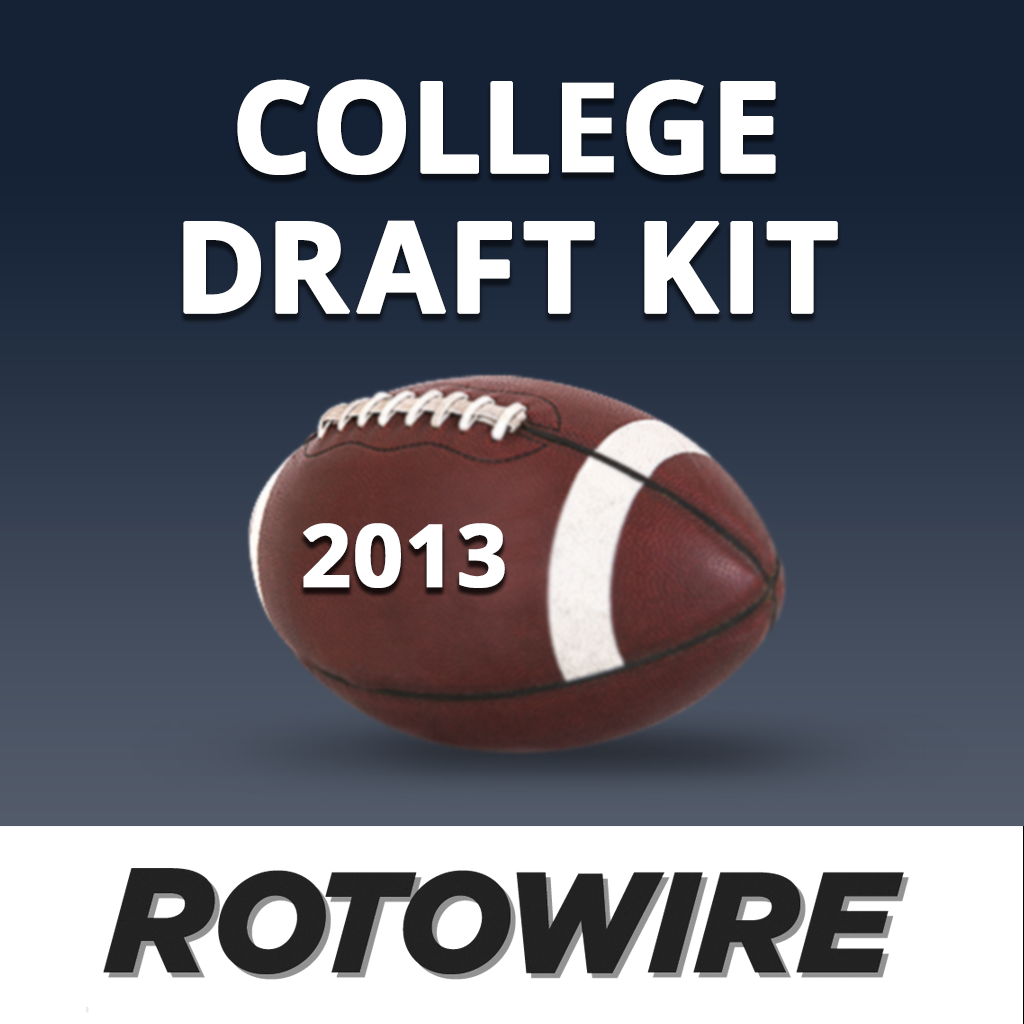 RotoWire Fantasy College Football Draft Kit 2013