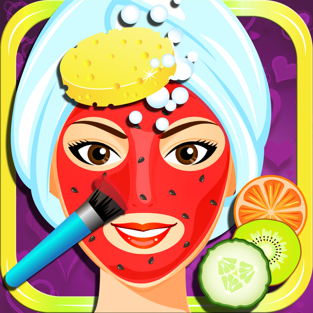 Ace Fashion Facial Spa - Kids Beauty Makeover Games for Girls