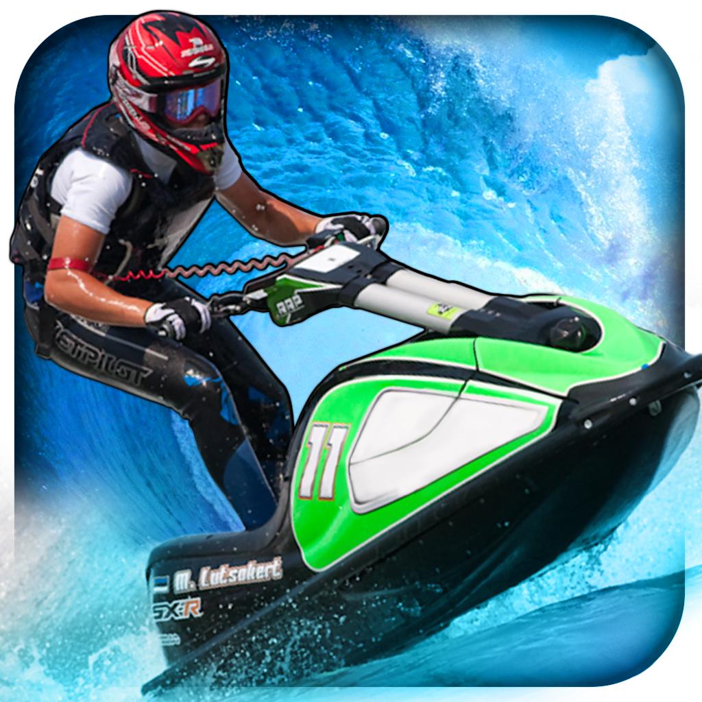 Jet Ski Aqua Race Free High Speed Boat Racing Game