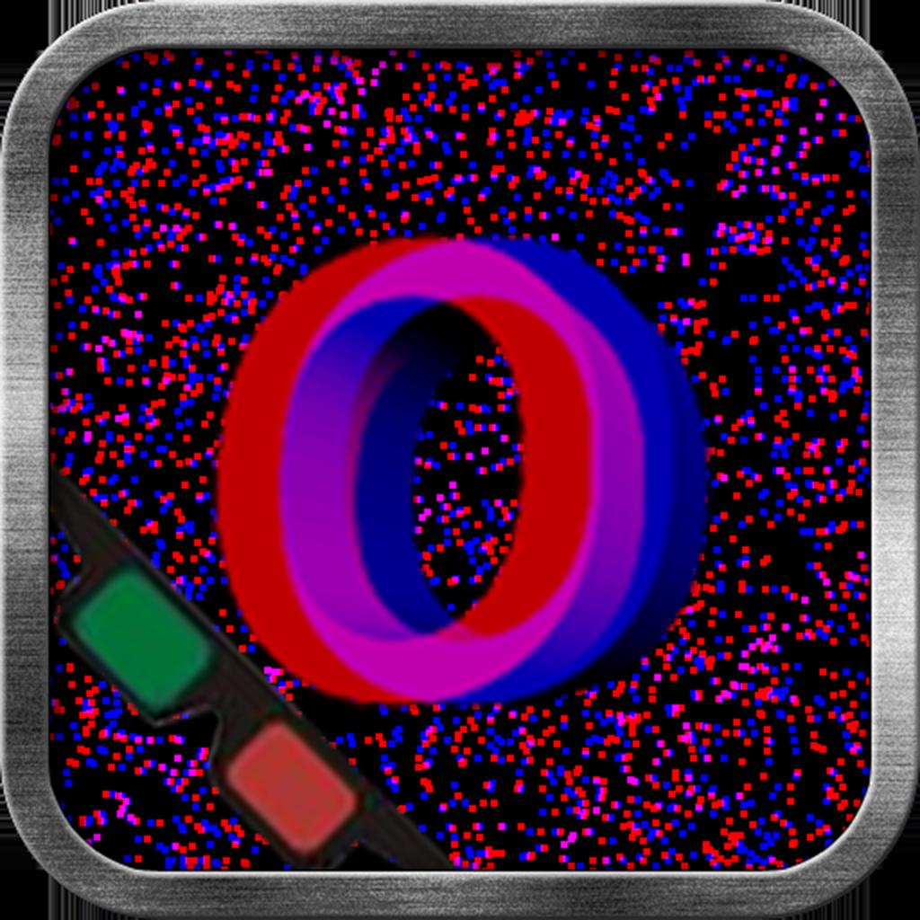 """Amblyopia (Lazy Eye) - """"O"""" Differ (3D)"""