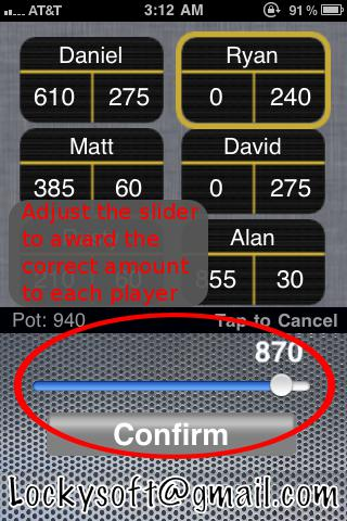 All the apps of the type Poker chips counter