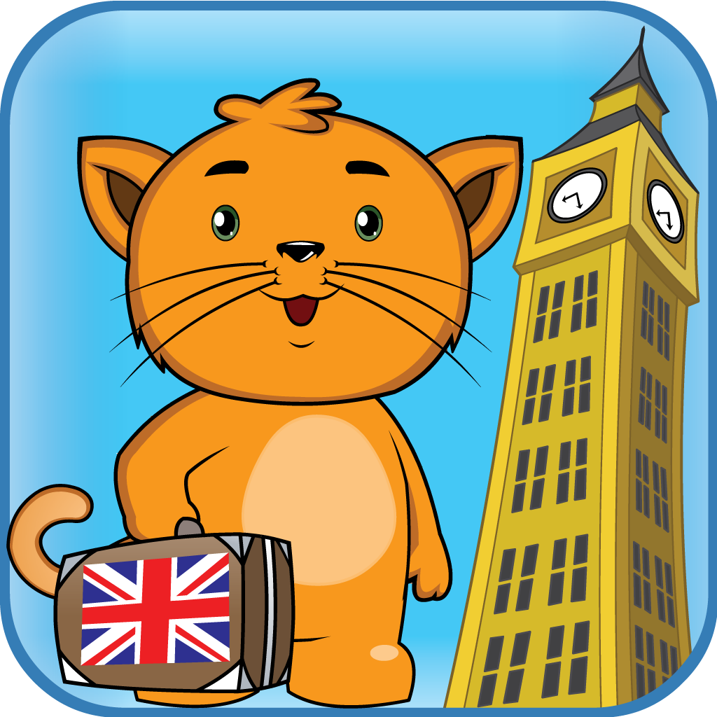 Kitty's Trip to Europe - United Kingdom - Geography for Kids