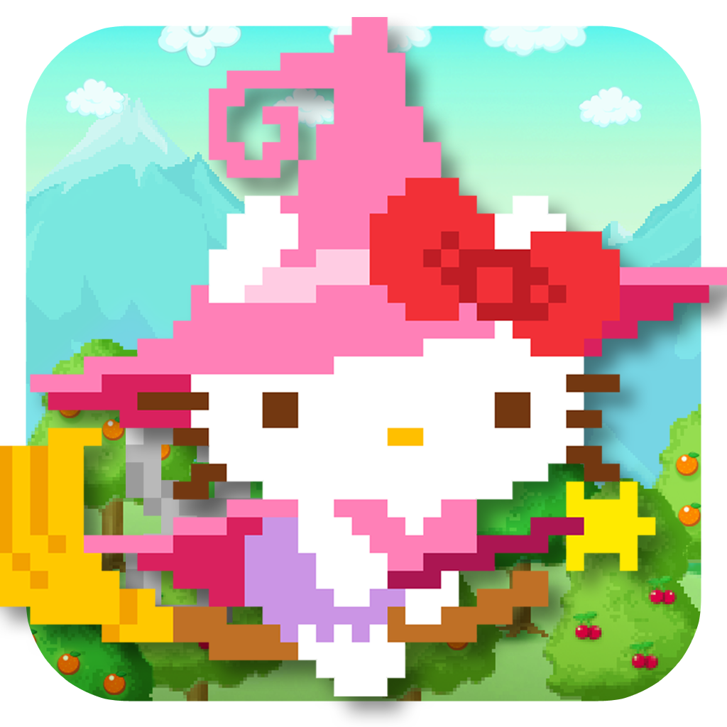 Hello Kitty Tap and Run icon