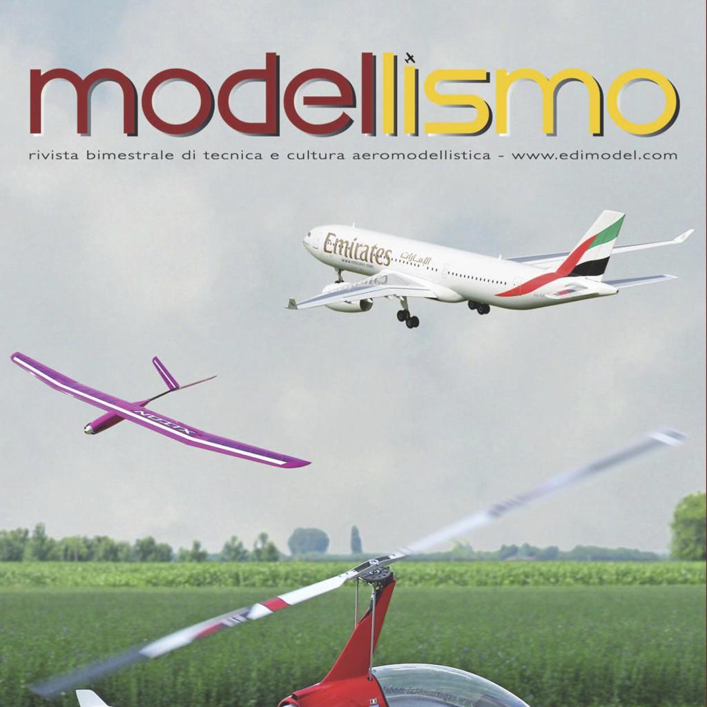 Modellismo, bimestrale di tecnica e cultura aeromodellistica.