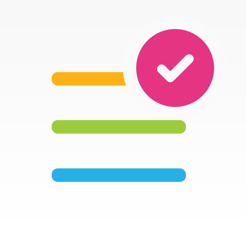 Listastic app icon App icon, Ios icon, App icon design