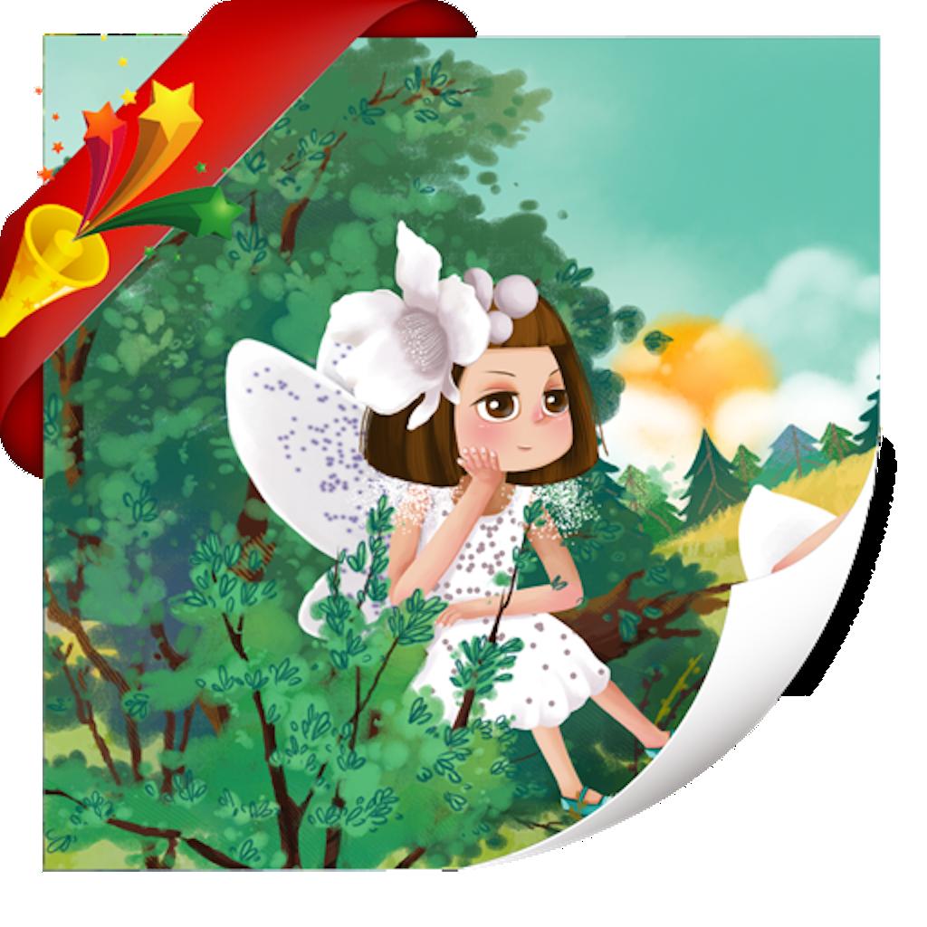 花孩子-小喇叭绘本-yes123(免费) icon