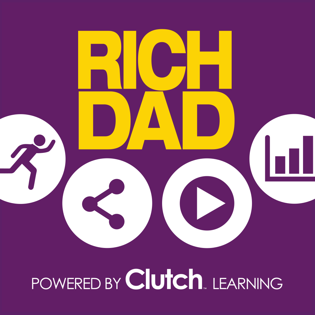 Rich Dad Poor Dad powered by Clutch Learning – Personal finance, budget, money manager, investing, business, stocks and how to use debt to your advantage
