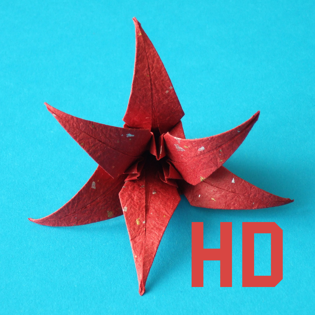 Origami Flowers HD