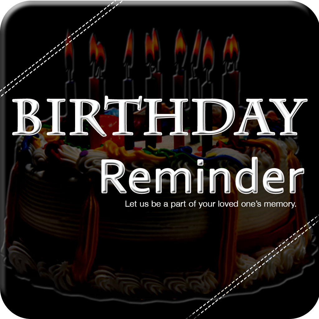 Happy Birthday Reminder N Invitation App Icon