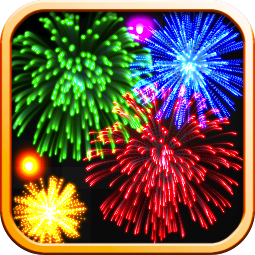 Real Fireworks Artwork Visualizer