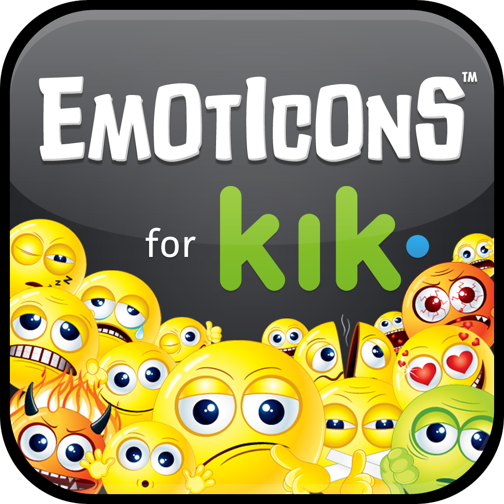 Emoticons for Kik