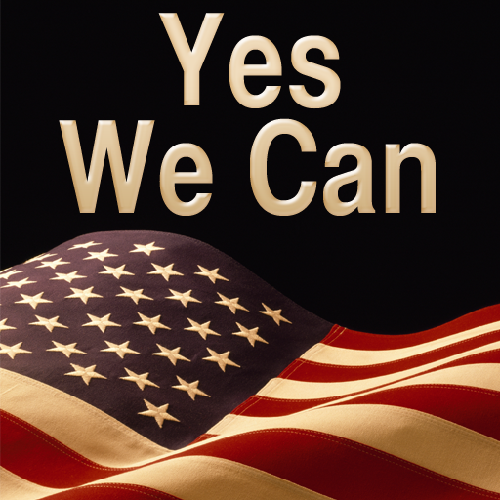 Obama Quote Booth - Yes We Can