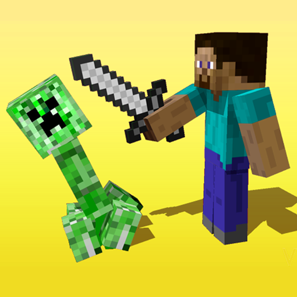 Creeper vs Steve icon